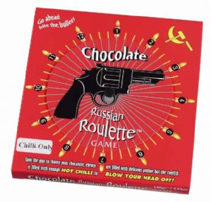 Chocolate Russian Roulette Game 140g